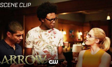 Arrow | The Longbow Hunters Scene | The CW