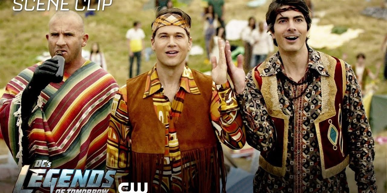 DC's Legends of Tomorrow | The Virgin Gary Scene | The CW