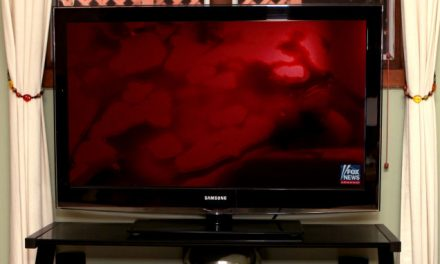 Fox News Now Just Airing Continuous Blood-Red Screen With Disembodied Voice Chanting 'They're Coming To Kill You'