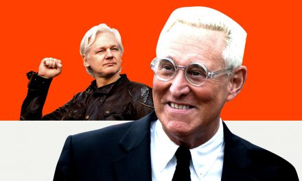 Text Messages Show Roger Stone Was Working to Get a Pardon for Julian Assange