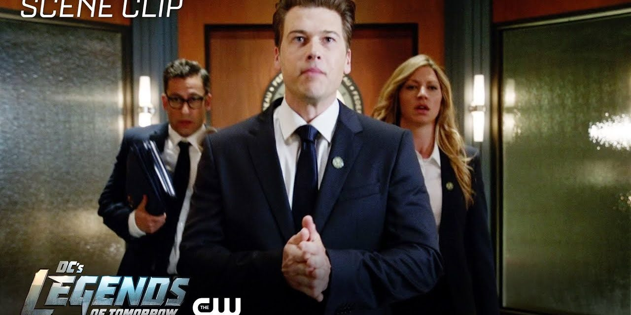 DC's Legends of Tomorrow   Witch Hunt Scene   The CW