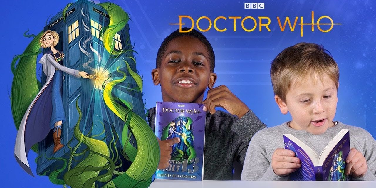 Kids Read Thirteenth Doctor Book   The Secret In Vault 13   Doctor Who