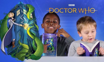 Kids Read Thirteenth Doctor Book | The Secret In Vault 13 | Doctor Who
