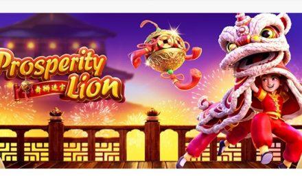 Pocket Games Soft announces new Prosperity Lion slot game