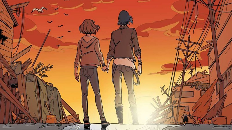 First Look At Life Is Strange Comic
