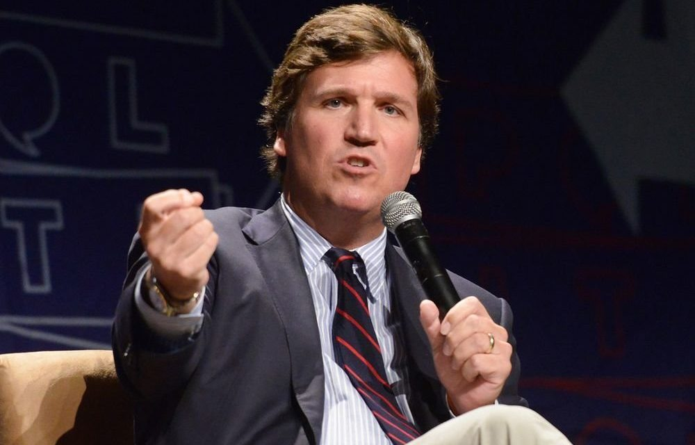 Anti-Fascist Protesters Target Fox News' Tucker Carlson At His Home