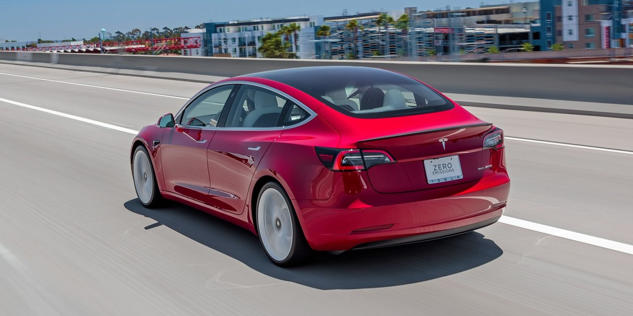 Tesla Model 3 Track Mode Meets the Autocross Course