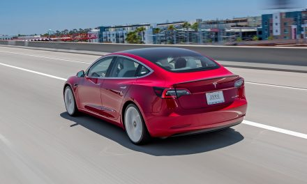 Tesla Model 3 Track Mode Meets the Autocross Course