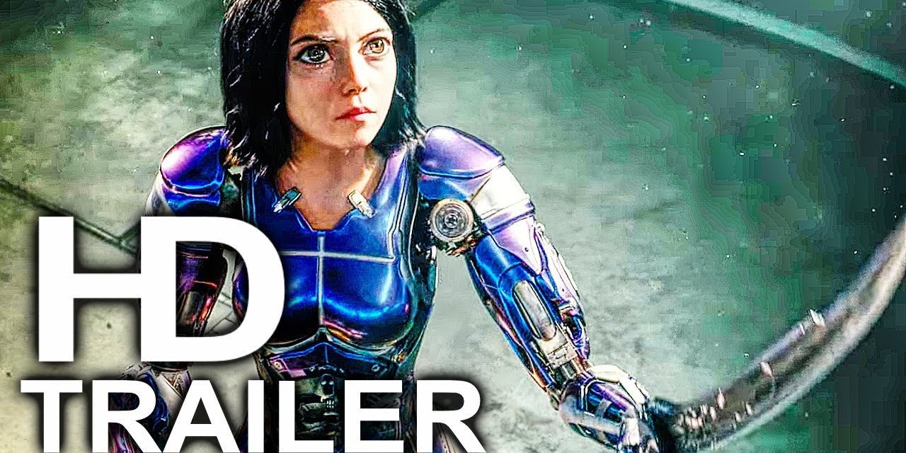 ALITA BATTLE ANGEL Trailer #3 NEW (2018) James Cameron Sci-Fi Movie HD