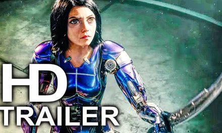 ALITA BATTLE ANGEL Trailer #3 NEW (2018) James Cameron Sci-Fi Movie HD