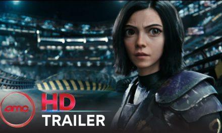 ALITA: BATTLE ANGEL – Official Trailer #2 (Rosa Salazar, Christoph Waltz) | AMC Theatres (2019)