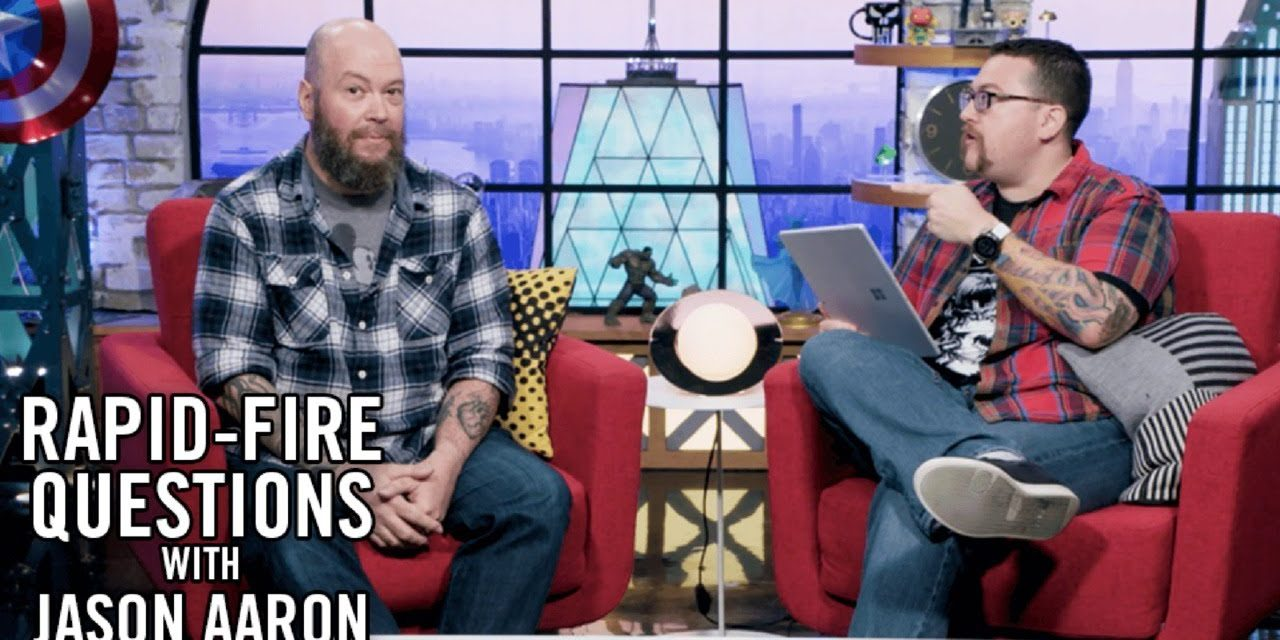 Writer Jason Aaron Answers Your Avengers Questions and More!
