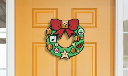 Get Into The Christmas Spirit With This Super Mario LED Wreath, Available Now