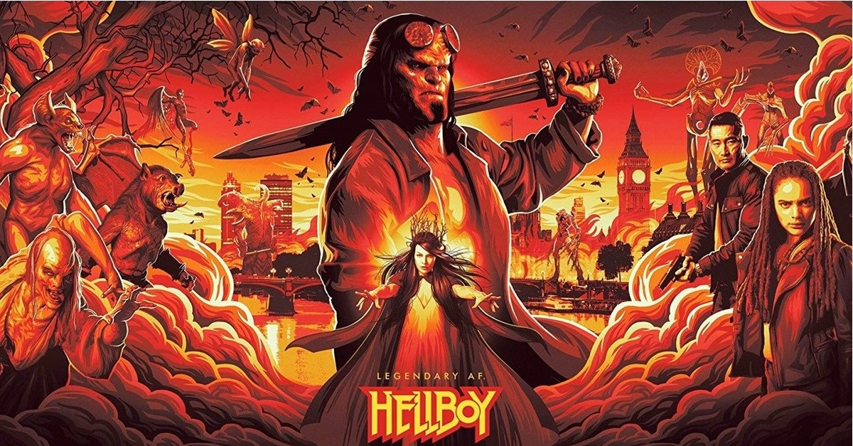 Test-Screening Reactions for HELLBOY 2019 Leaked Online—And They Aren't Good