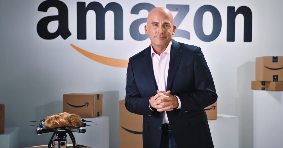 Steve Carell became Amazon's Jeff Bezos to troll Donald Trump on 'SNL'
