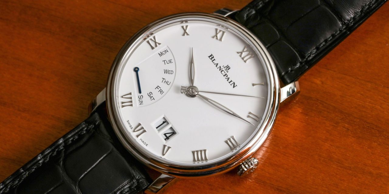 Blancpain Villeret Grande Date Jour Rétrograde Watch Hands-On