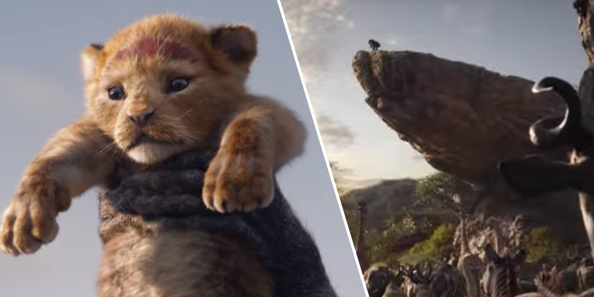 First Look At Disney's The Lion King Is Incredible