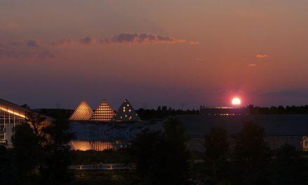 Shigeru Ban proposes trio of pyramids for Kentucky Owl whiskey distillery