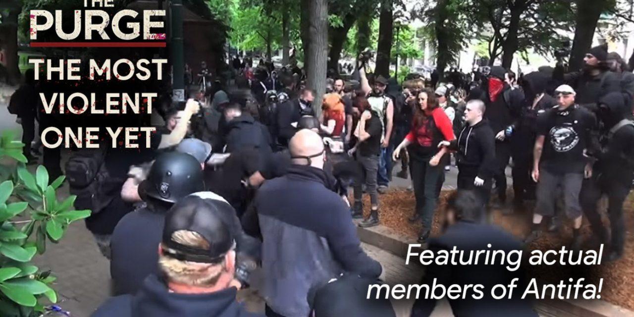 New 'Purge' Film Provides Hundreds Of Jobs For Antifa