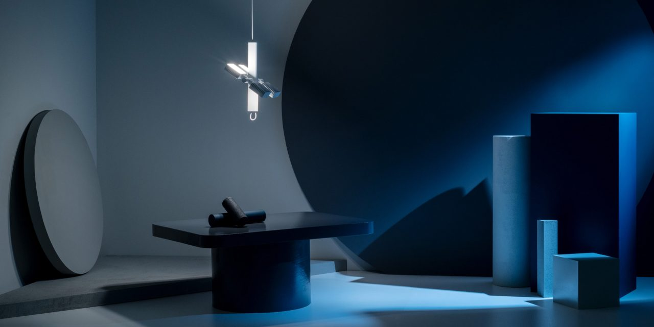 Dorval light is based on the shapes of the International Space Station