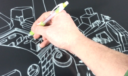 E Ink debuts a new electronic drawing technology