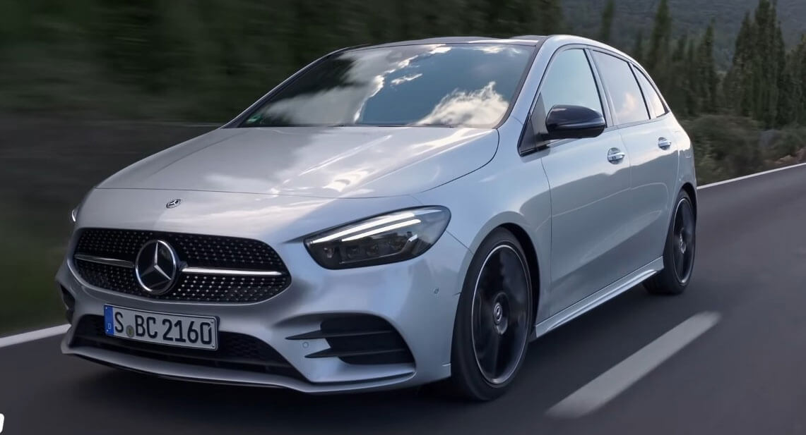 All-New Mercedes-Benz B-Class Proves MPVs Aren't Dead Yet