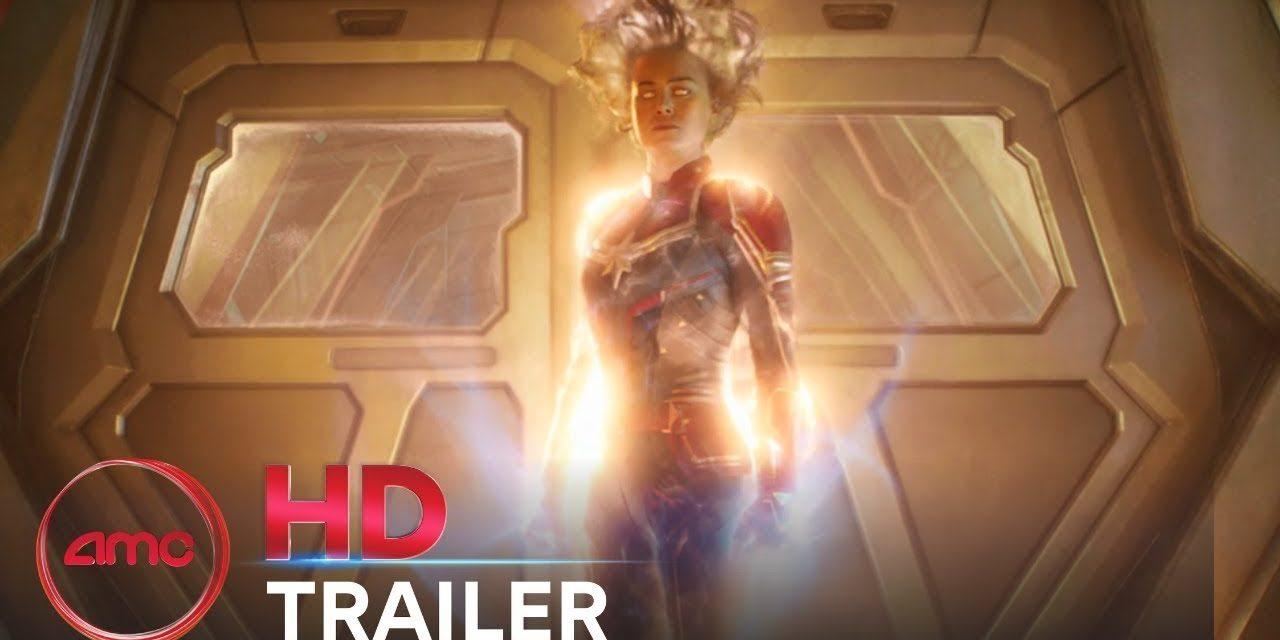 CAPTAIN MARVEL – Official Trailer #2 (Brie Larson, Samuel L. Jackson) | AMC Theatres (2019)