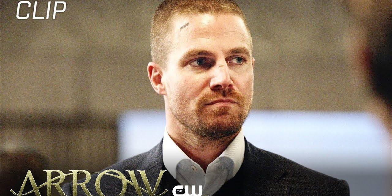 Arrow   Unmasked Scene   The CW