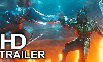 AQUAMAN Arthur Vs Ocean Master Fight Scene Clip + Trailer NEW (2018) Superhero Movie HD