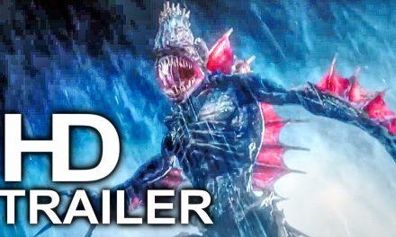 AQUAMAN Trench Giant Monster Scene Clip + Trailer NEW (2018) Superhero Movie HD