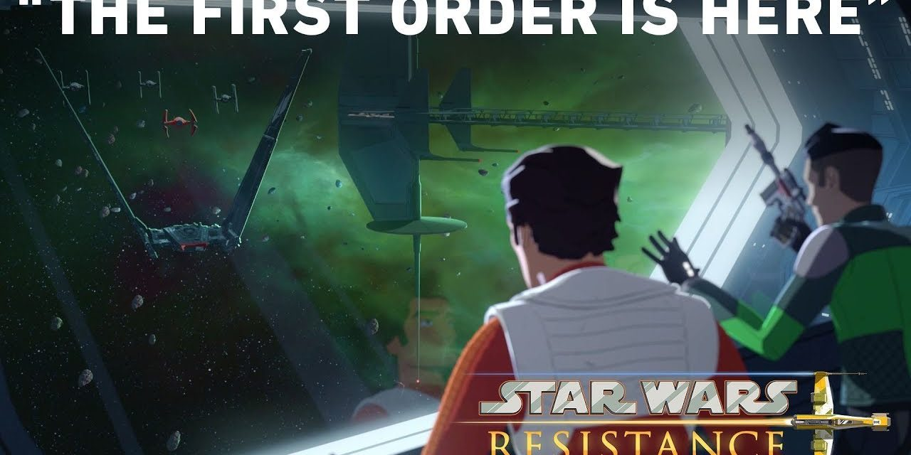 "The First Order is Here- ""Station Theta-Black"" Preview 