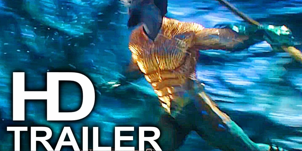 AQUAMAN Classic Suit And Trident Fight Scene Trailer NEW (2018) Superhero Movie HD