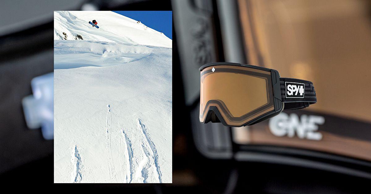 Spy Ace EC Goggle: Snowboarding Gear Lookbooks 2018-2019