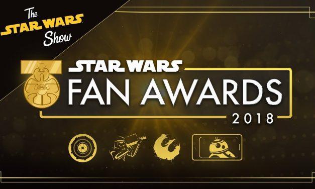The Star Wars Fan Awards 2018 | The Star Wars Show