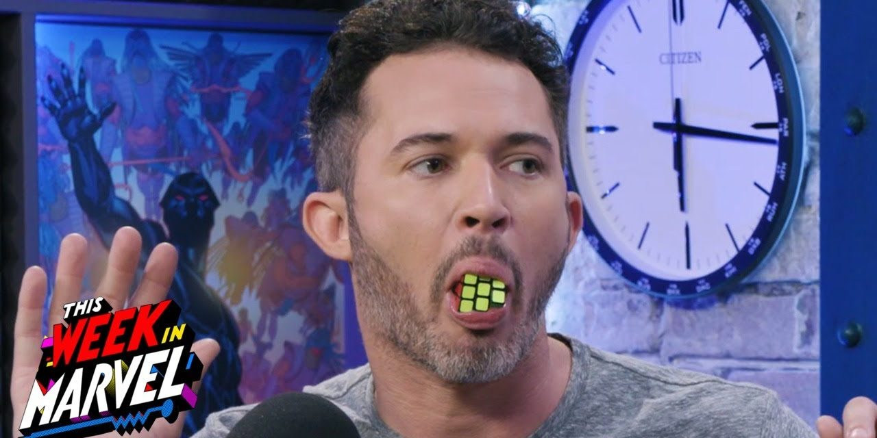 Magician Justin Willman blows our minds???   This Week in Marvel