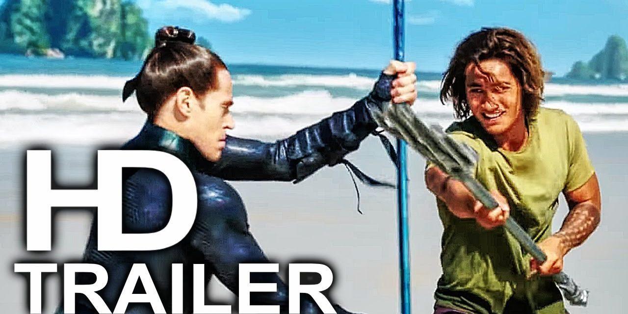 AQUAMAN Vulko Training Young Arthur Scene Clip + Trailer NEW (2018) Superhero Movie HD