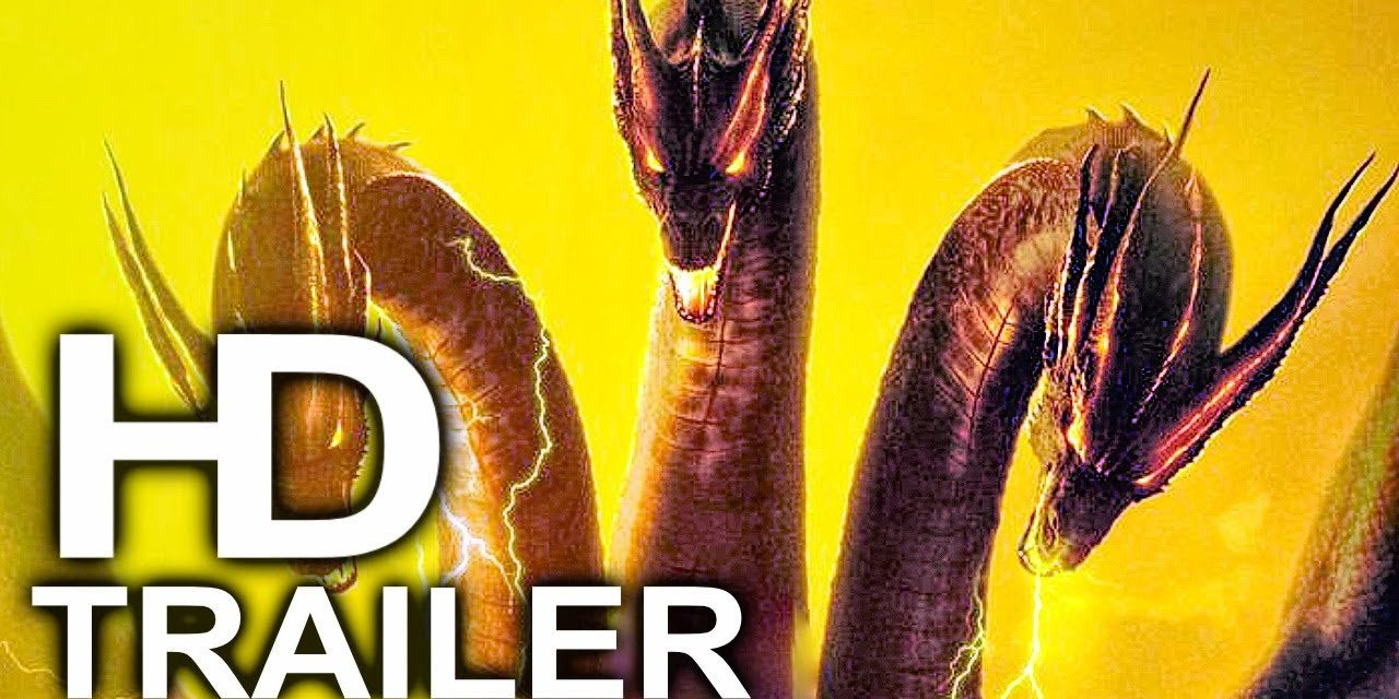 GODZILLA 2 King Ghidorah Face Reveal Trailer NEW (2019) King Of The Monsters Action Movie HD