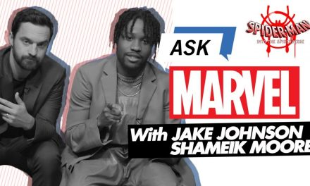 Jake Johnson & Shameik Moore answer YOUR Spider-Man: Into the Spider-Verse questions!  | Ask Marvel