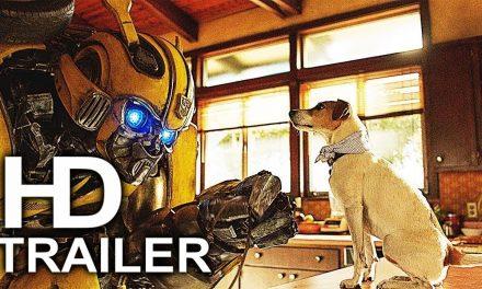 BUMBLEBEE Vs Charlie's Dog Scene Clip + Trailer NEW (2018) John Cena Transformers Movie HD