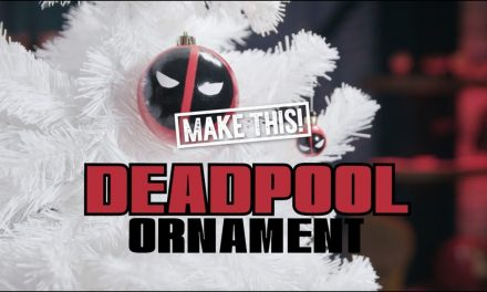 How to Make a Deadpool Ornament for the Holidays