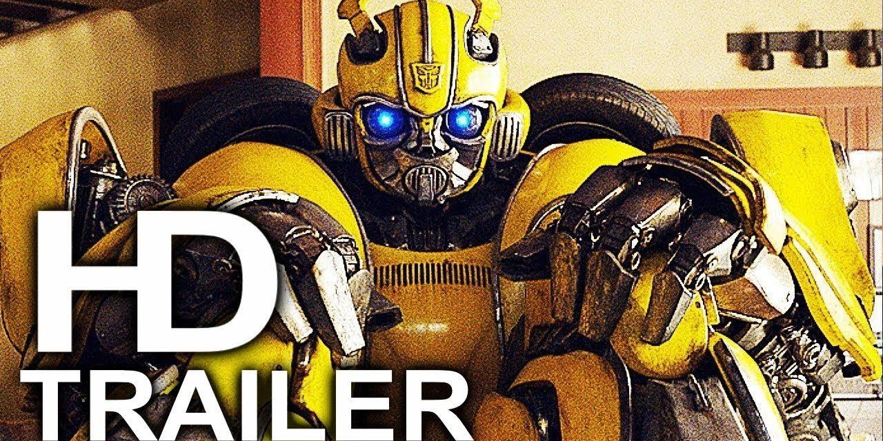 BUMBLEBEE Destroys Charlie's House Scene Clip + Trailer NEW (2018) John Cena Transformers Movie HD