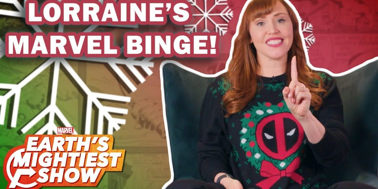 What to Binge Over the Holidays with Lorraine Cink   Earth's Mightiest Show Bonus