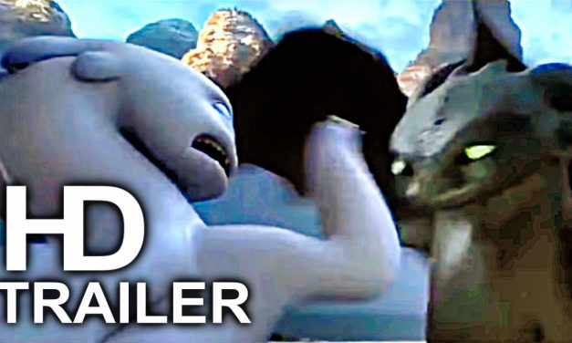 HOW TO TRAIN YOUR DRAGON 3 Light Fury Punches Toothless Trailer (2019) Animated Movie HD