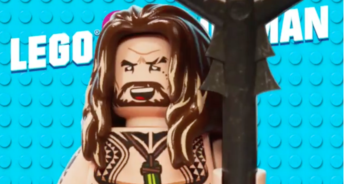 Gorgeous man-beast Jason Momoa will return as Aquaman in The LEGO Movie 2: The Second Part
