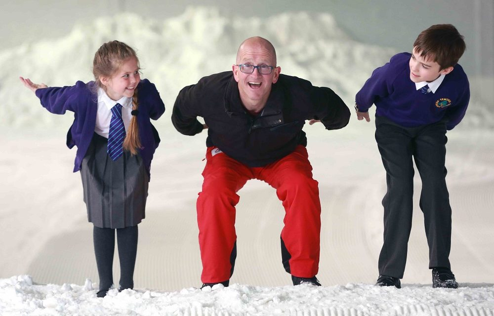 Last Chance to go on a Ski Holiday with Eddie the Eagle and Raise Funds For Cancer Charity
