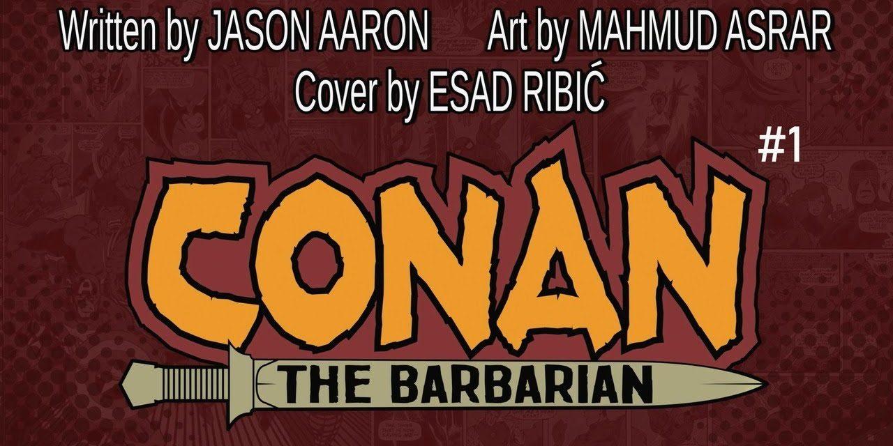 CONAN THE BARBARIAN #1 Launch Trailer   Marvel Comics