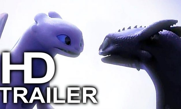 HOW TO TRAIN YOUR DRAGON 3 Toothless Kisses Light Fury Trailer (2019) Animated Movie HD