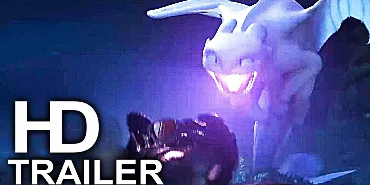HOW TO TRAIN YOUR DRAGON 3 Light Fury Vs Toothless Fight Scene Trailer (2019) Animated Movie HD