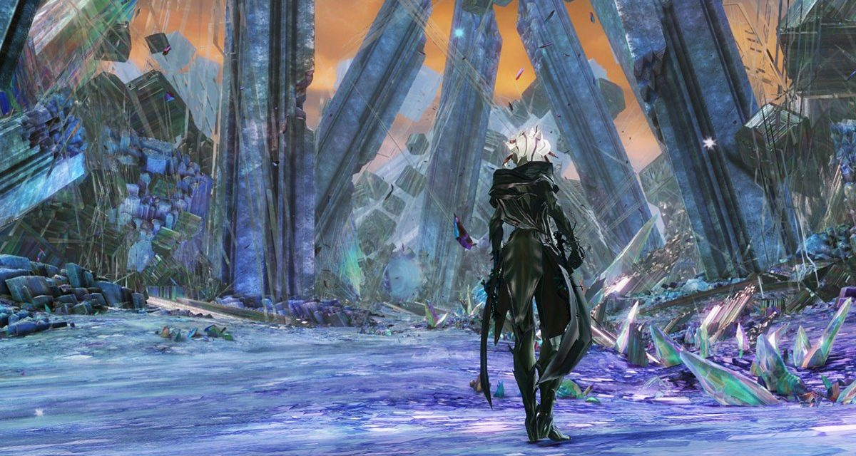 Guild Wars 2's fourth season peaks with a Crystal Dragon hunt