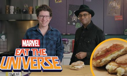 Fantastic Four Grilled Cheese | Eat The Universe